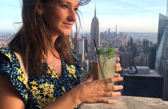 Bar SixtyFive met cocktail in New York